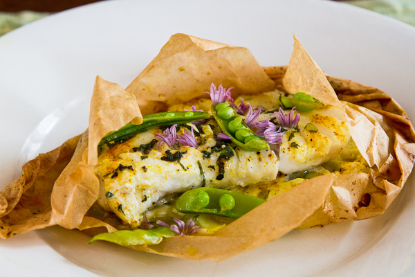 Grilled Fish In Parchment Recipe — Dishmaps