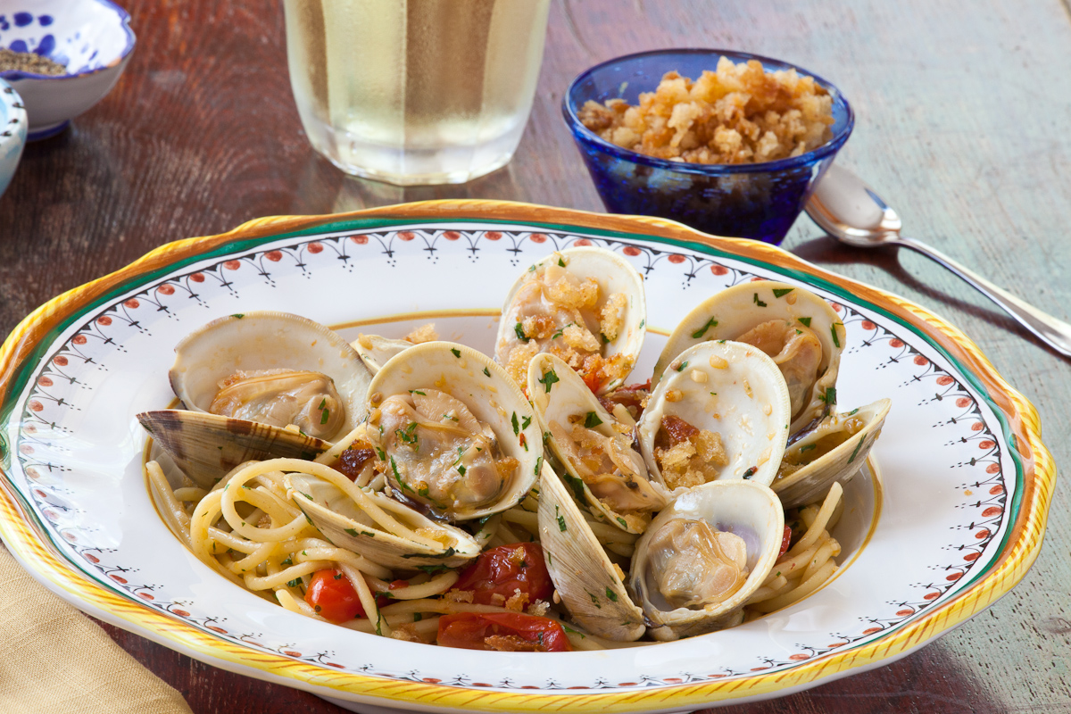 Poor No More – Spaghetti with Clams and Toasted Breadcrumbs | The ...