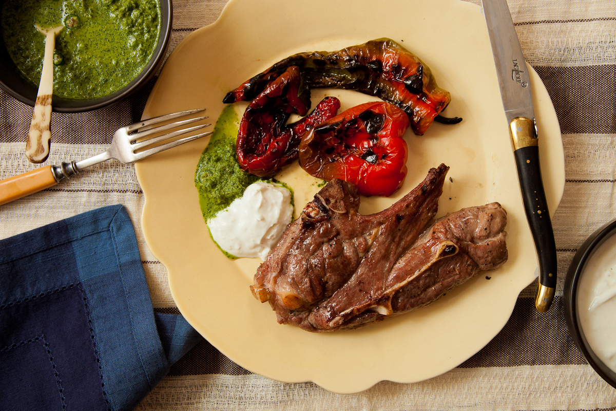 Grilled Lamb Blade Chops-12-1