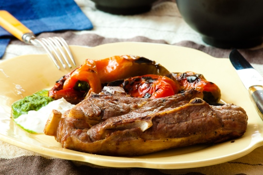 Grilled Lamb Blade Chops-2