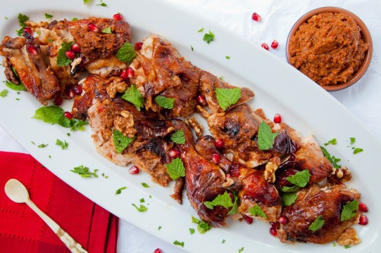 Roast Chicken with Muhammara-11