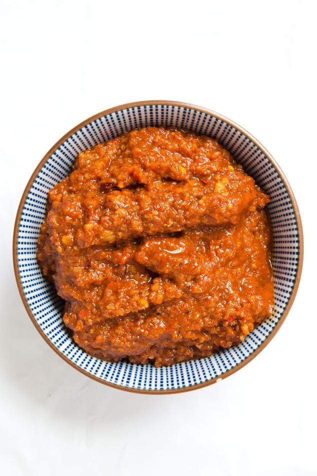 Roast Chicken with Muhammara-6a