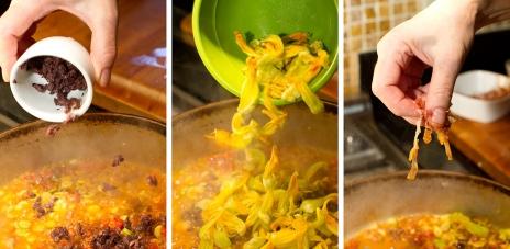 Torchio Pasta with Squash Blossoms-12
