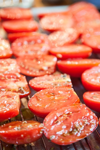 Slow-Roasted Plum Tomatoes with Herb Salt-16
