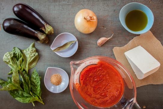 Cavatelli with Tomato-Eggplant Sauce and Ricotta Salata-3