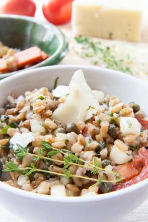 Mediterranean Barley Salad with Pecorino-1