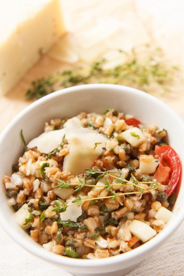 Mediterranean Barley Salad with Pecorino-10