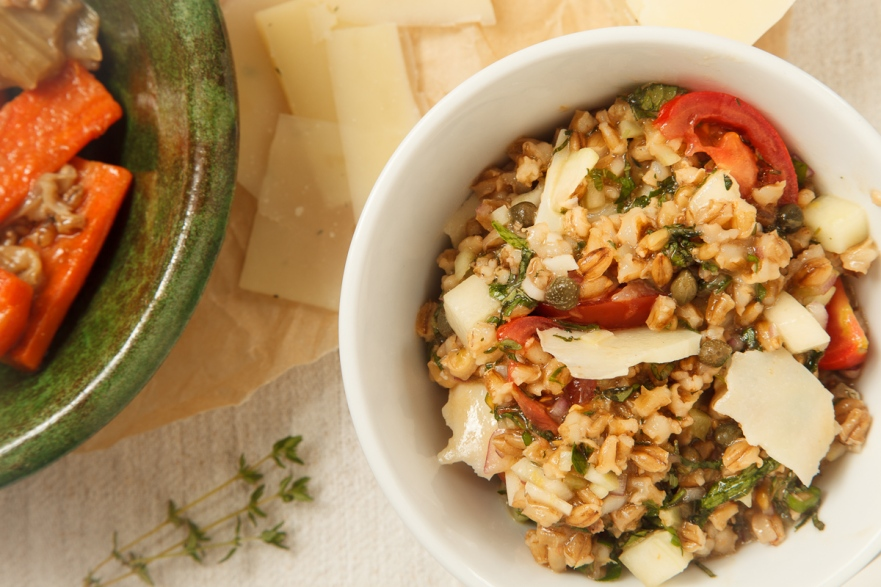 Mediterranean Barley Salad with Pecorino-11