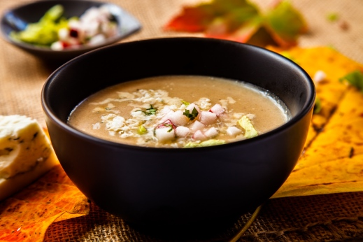 Jerusalem Artichoke and Celery Root Soup with Gorgonzola-1