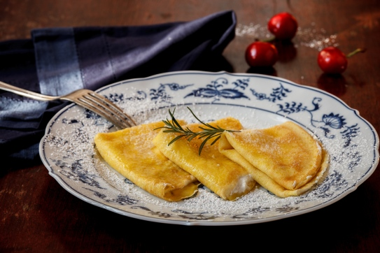 Crespelle with Lemon-Rosemary Ricotta-1