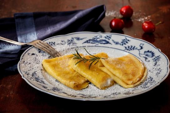Crespelle with Lemon-Rosemary Ricotta-1