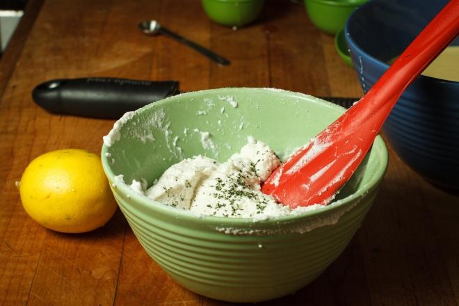 Crespelle with Lemon-Rosemary Ricotta-8