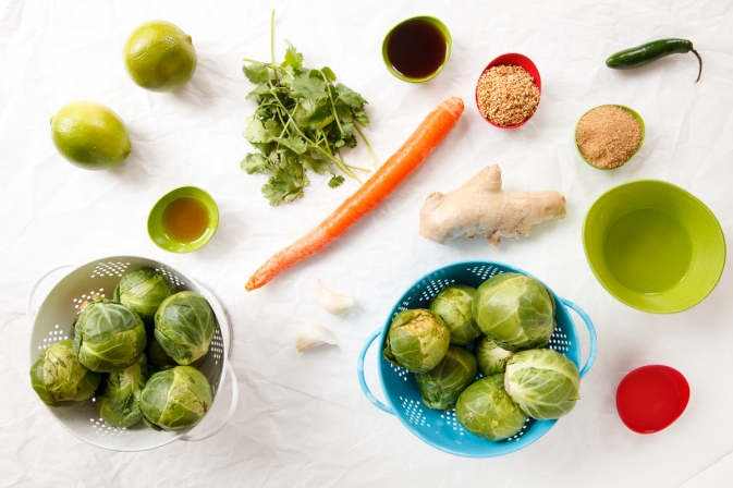 Seared Brussel Sprouts with Vietnamese Dipping Sauce-3