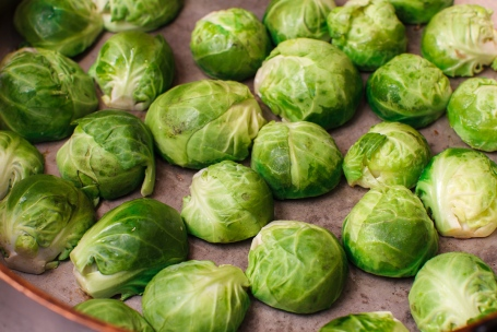 Seared Brussel Sprouts with Vietnamese Dipping Sauce-7