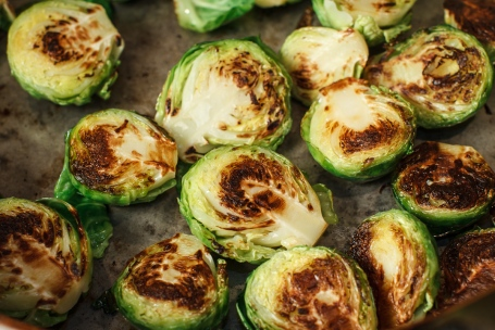 Seared Brussel Sprouts with Vietnamese Dipping Sauce-8