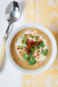 Fava Bean and Almond Soup TGF-7