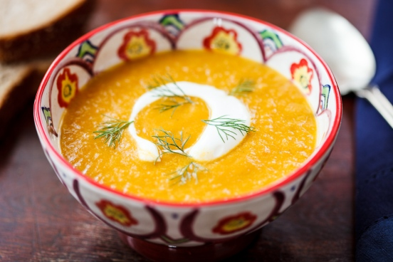 Fennel-Carrot Soup with Ginger-1