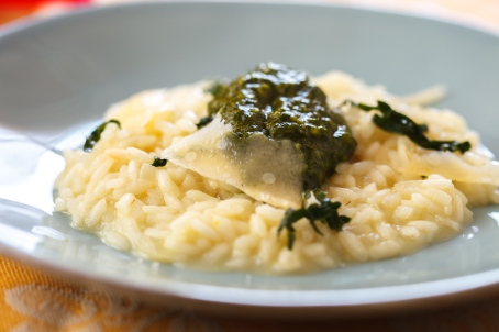 Risotto with Kale Pesto-TGF-13