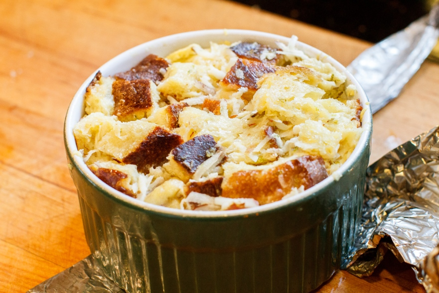 Coconut Banana Lime Bread Pudding TGF-14