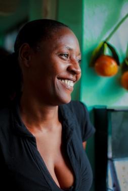 Port au Prince woman.