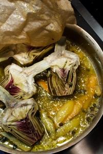 Braised Artichokes TGF - 19