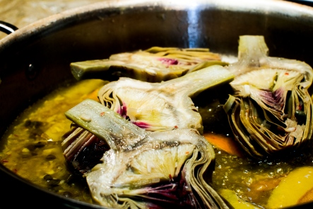 Braised Artichokes TGF - 2
