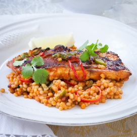 Israeli Couscous with Red Snapper and Preserved Lemon-25