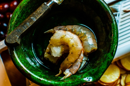 Shrimp in a Pouch with Lemon Mayonnaise-4