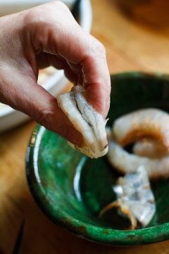 Shrimp in a Pouch with Lemon Mayonnaise-7