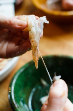 Shrimp in a Pouch with Lemon Mayonnaise-8