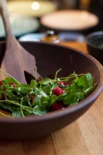 Spring Onion and Strawberry Salad with Pistachio Pesto-19