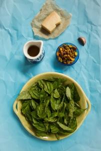 Spring Onion and Strawberry Salad with Pistachio Pesto-4