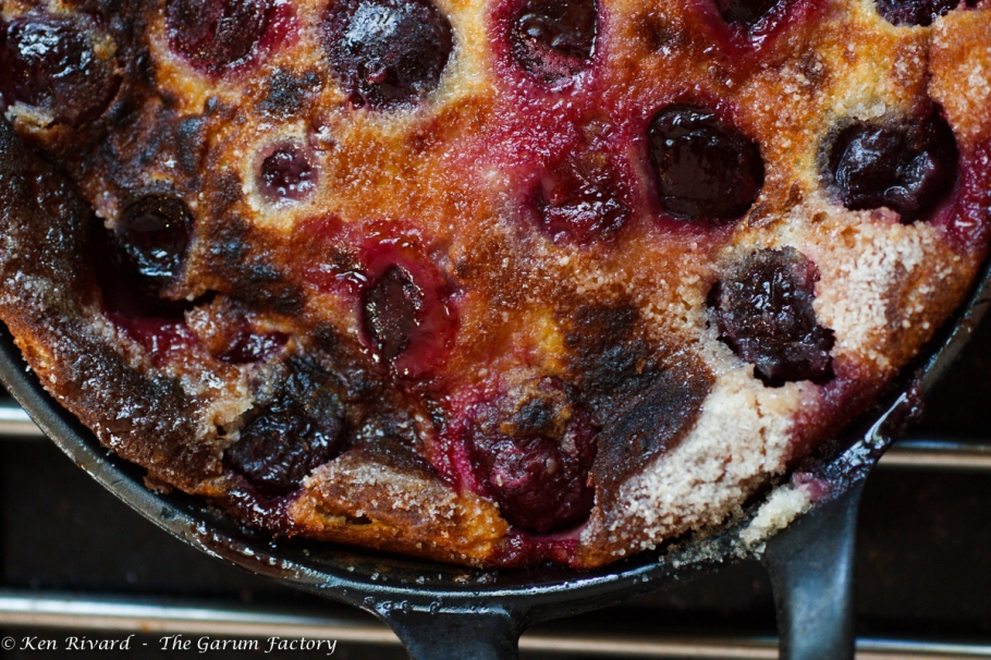 Cherry Goat Cheese Clafoutis-1