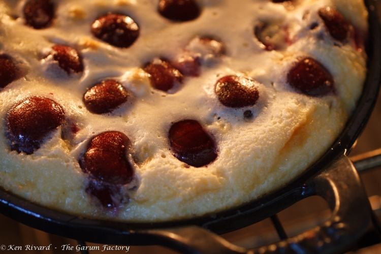 Cherry Goat Cheese Clafoutis-11