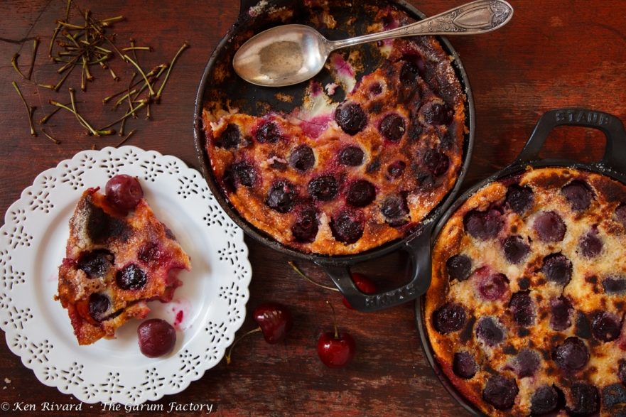Cherry Goat Cheese Clafoutis-14