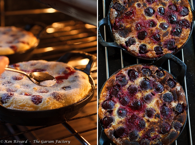 Cherry Goat Cheese Clafoutis-17
