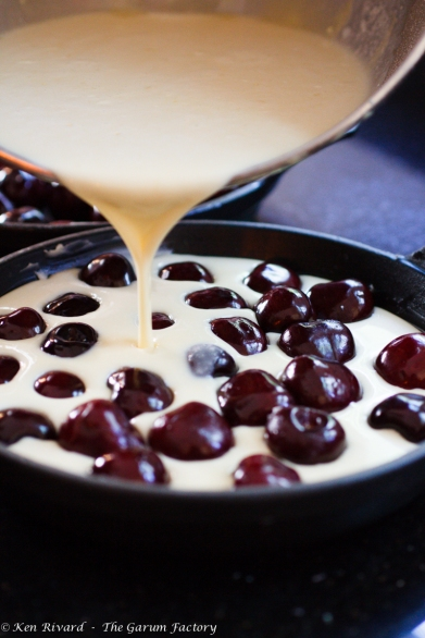 Cherry Goat Cheese Clafoutis-8