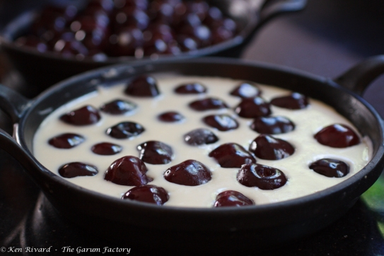 Cherry Goat Cheese Clafoutis-9