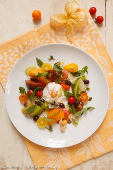 Tomato and Burrata Salad-15