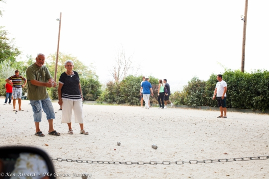 Petanque or boulle.