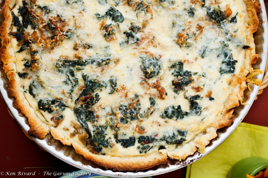 Swiss chard tart - coming soon!