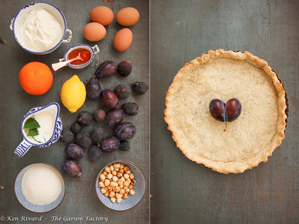 Fig, Plum and Hazelnut Tart 2-1-2