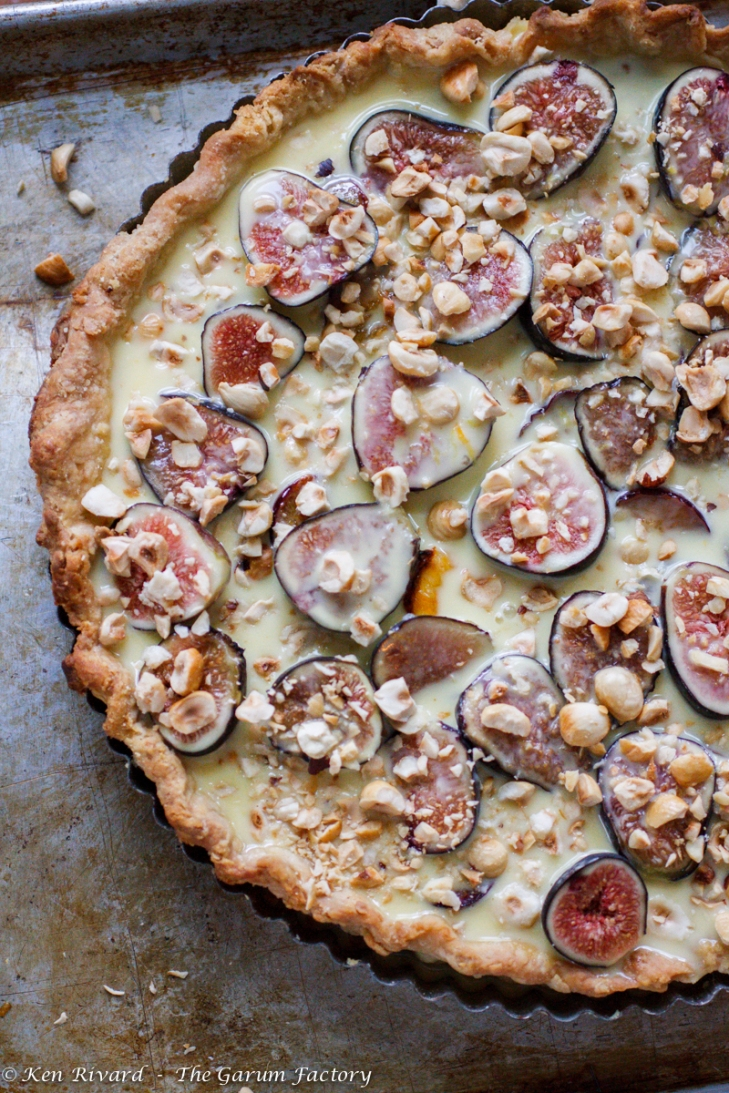 Fig, Plum and Hazelnut Tart-262-8548
