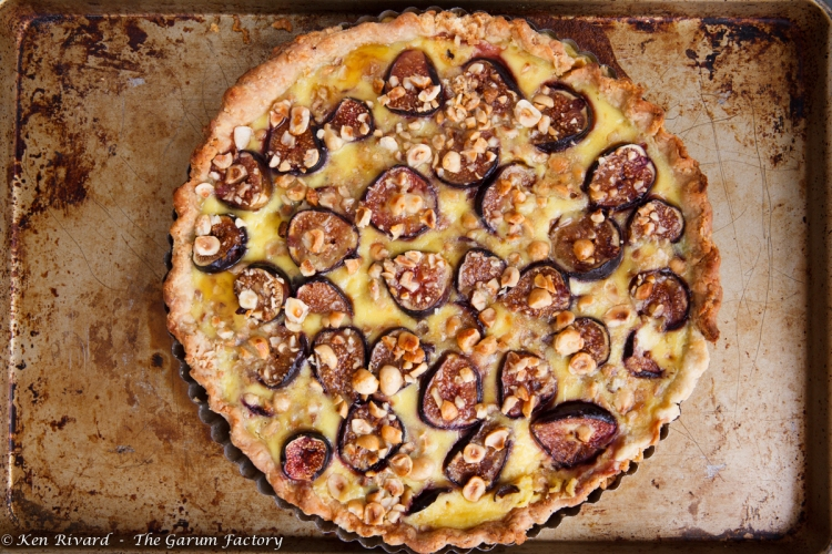 Fig, Plum and Hazelnut Tart-522-8811