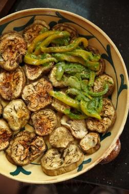 Eggplant, Pepper and Tomato Gratin-20