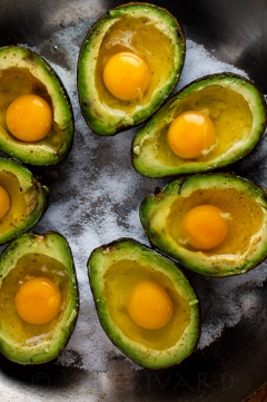 Eggs Baked in Avocado-16