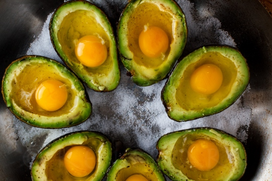 Eggs Baked in Avocado-17