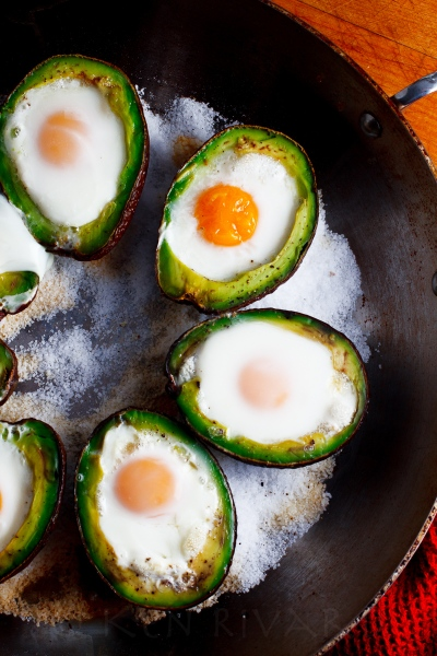 Eggs Baked in Avocado-2