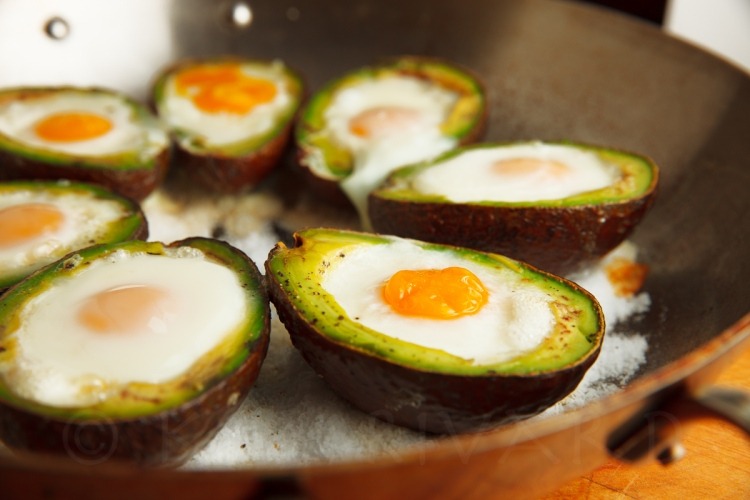 Eggs Baked in Avocado-20