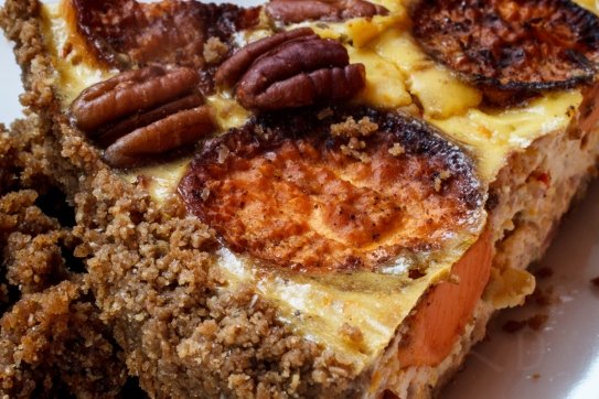 Sweet Potato and Gruyère Pie with Pecans-12966